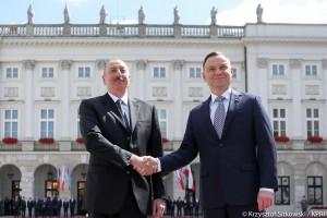 Prezydent: potencjał gospodarczy Polski i Azerbejdżanu jest bardzo duży