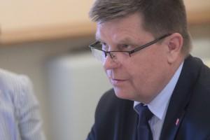 Jerzy Leszczyński, marszałek województwa podlaskiego. Fot. PTWP