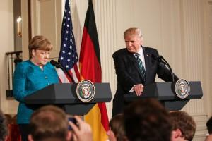 Merkel krytykuje Trumpa za protekcjonizm