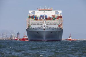Zdjęcie numer 3 - galeria: Największy kontenerowiec świata w Gdańsku