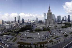 Warszawa ogłosiła konkurs na projekt przebudowy pl. Defilad