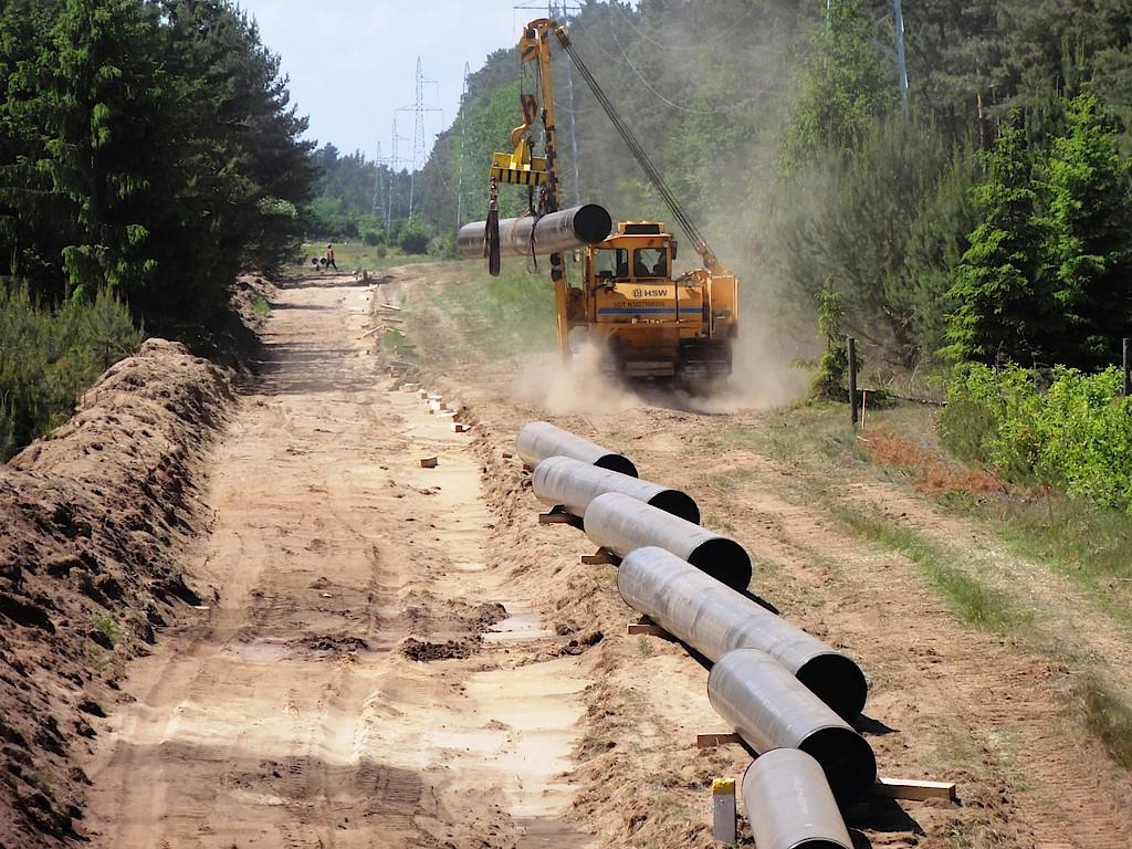 Budowa gazociągu. Fot. Gaz-System