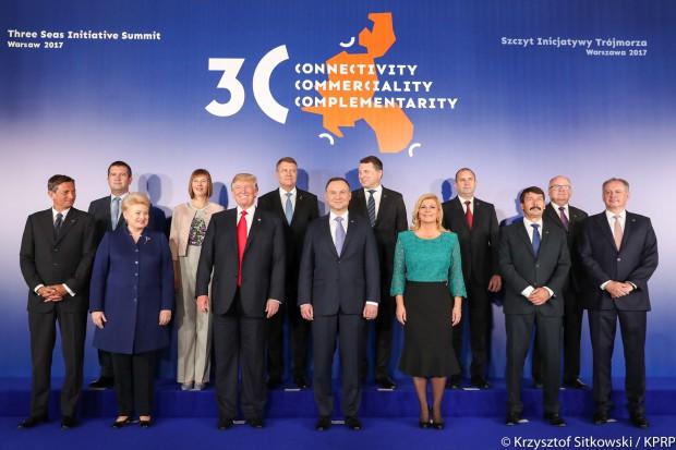 Deklaracja szczytu Trójmorza: nasza współpraca przyczyni się do rozwoju całej UE