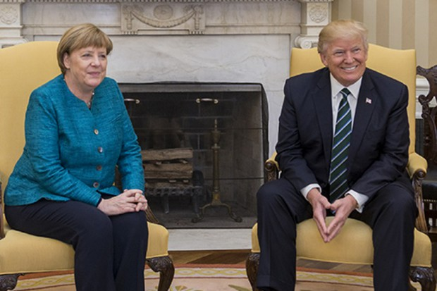 Po spotkaniu Merkel z Trumpem: nadal duże różnice zdań ws. handlu i klimatu