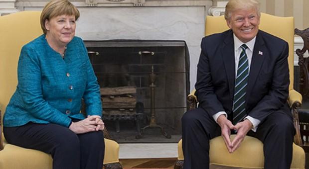 Angela Merkel zabrała głos ws. ceł USA na stal i aluminium