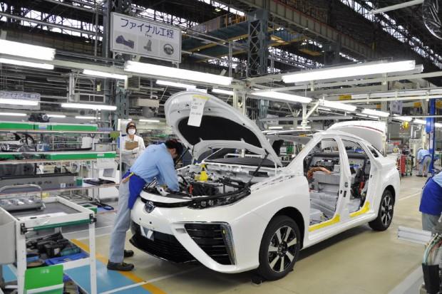 Toyota sprzedała rekordowa liczbę samochodów