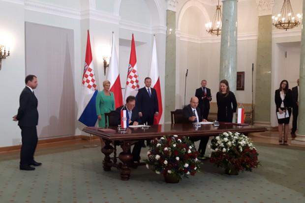 Umowa polskiego portu z portem w Rijece
