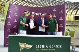 Energa dalej będzie wspierać Lechię Gdańsk