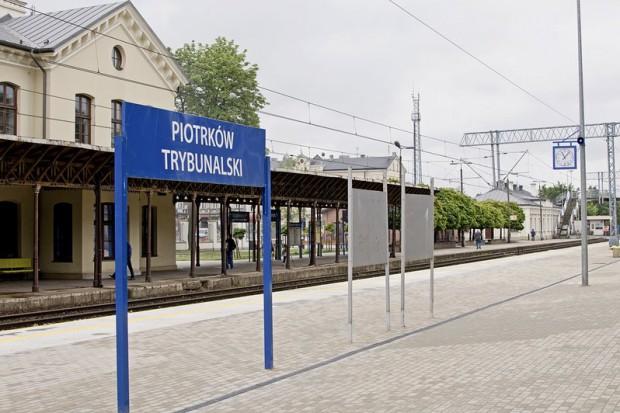 PKP PLK modernizują stację w Piotrkowie Trybunalskim