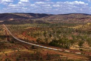 Autonomiczne pociągi Rio Tinto