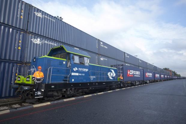 Pociągi towarowe do Chin mają coraz lepsze wypełnienie