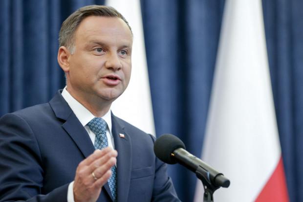 Andrzej Duda o ograniczeniu emisji CO2: bez nacisków bogatszych krajów