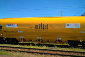 Dywizja kolejowa OT Logistics z certyfikatem GMP+