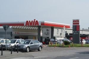 Pierwsza stacja Avia w Warszawie