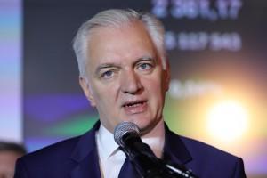 Jarosław Gowin, wicepremier, minister nauki i szkolnictwa wyższego.