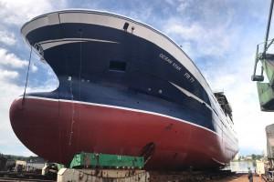 Podwójne wodowanie w stoczni Nauta