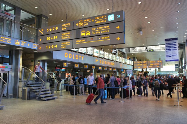 Kraków Airport zwiększył liczbę pasażerów o jedną czwartą