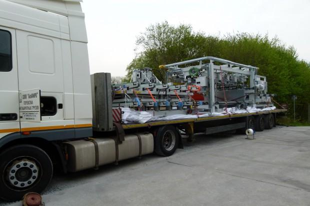 Rohlig Suus Logistics przewiezie do Rosji fabrykę Knaufa