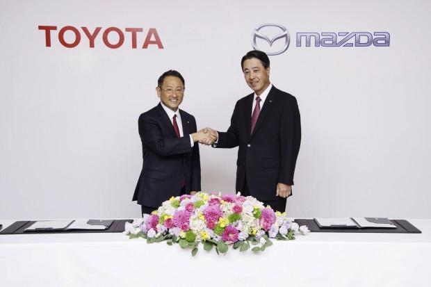 Toyota i Mazda stworzyły sojusz kapitałowy na rzecz samochodów elektrycznych