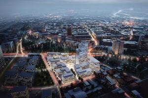Skanska rozpoczyna budowę nowej części Poznania