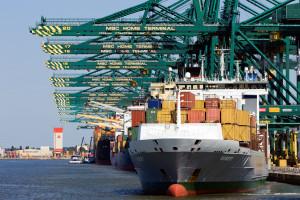 Największe europejskie porty zatkane jak nigdy