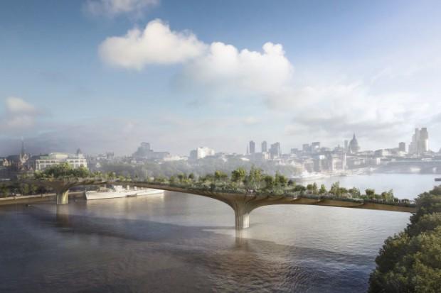 Zrezygnowano z budowy mostu-ogrodu na Tamizie