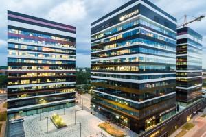 Skanska buduje ostatni biurowiec w Silesia Business Park