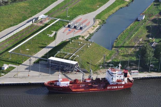 Orlen Paliwa planuje rozbudowę terminalu gazu w Szczecinie