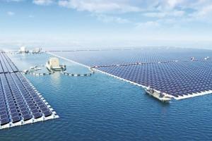 W Chinach uruchomiono największą na świecie pływającą elektrownię słoneczną