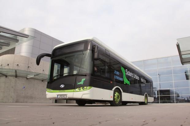 Kolejne elektryczne Solarisy pojadą do Norwegii