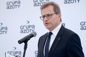 Wojciech Wardacki, prezes Grupy Azoty.