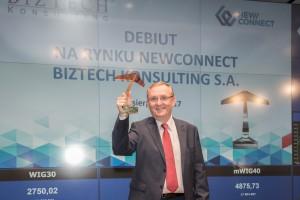 Firma BizTech Konsulting zadebiutowała na NewConnect