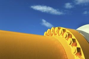 Coraz mniej rosyjskiego gazu płynie przez Ukrainę