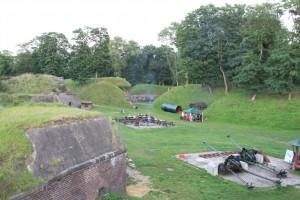 Fort Gerhard, jeden z beneficjentów powstania gazoportu. Liczba turystów wzrosła.