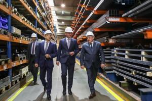 Prezydent Duda o polskiej firmie: to dowód pięknego rozwoju miasta