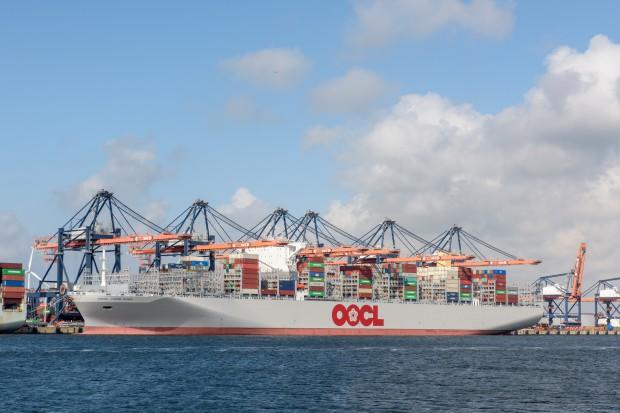 OOCL Japan zaliczyło pechowy rejs kontenerowca