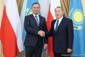 Andrzej Duda podpisał dwie umowy o współpracy z Kazachstanem
