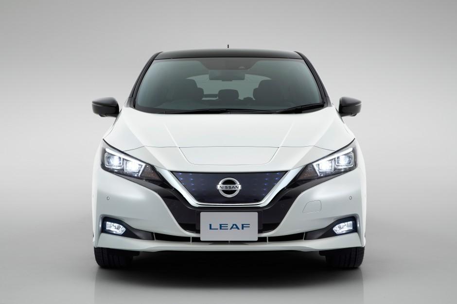 Zdjęcie numer 2 - galeria: Nissan Leaf już oficjalnie w nowej odsłonie [FOTO]