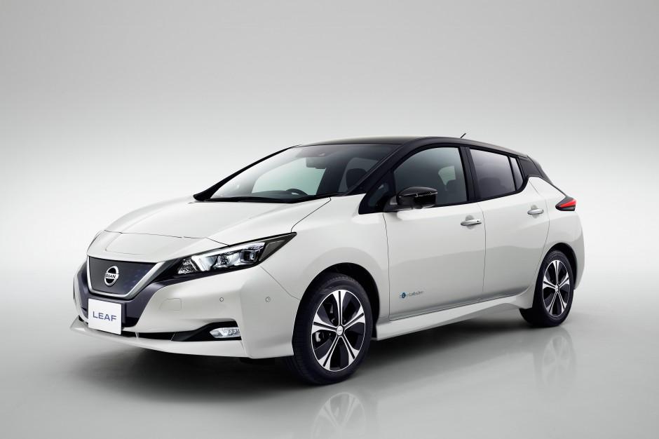 Zdjęcie numer 1 - galeria: Nissan Leaf już oficjalnie w nowej odsłonie [FOTO]