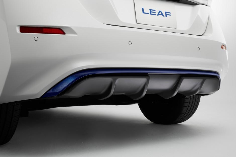 Zdjęcie numer 4 - galeria: Nissan Leaf już oficjalnie w nowej odsłonie [FOTO]