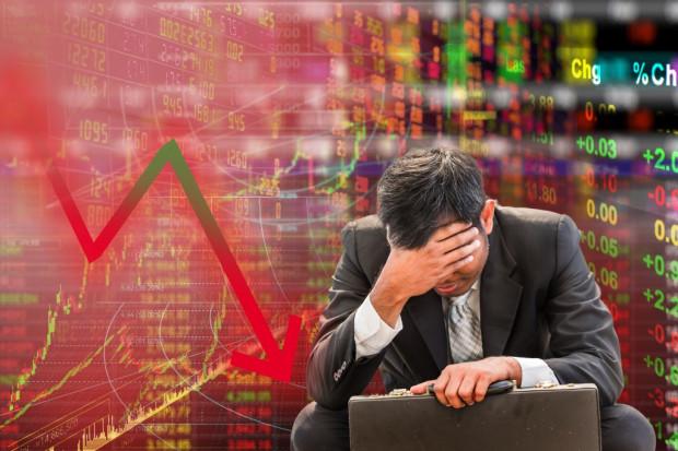 Trwają spadki na nowojorskich giełdach; ale rentowności UST w dół