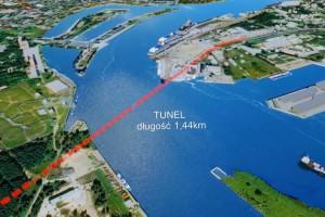 Cztery oferty na tunel w Świnoujściu. Najtańsza za ponad 0,6 mld zł