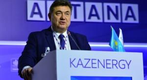 Minister Tobiszowski zachwalał polskie maszyny górnicze w Kazachstanie