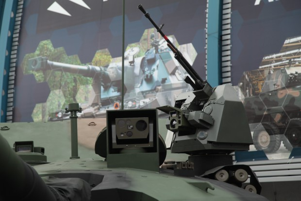 Ukraińska wieża czołg PT-17. fot. Paweł Pawłowski