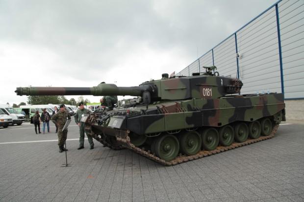 Leopard 2A4 fot. Paweł Pawłowski
