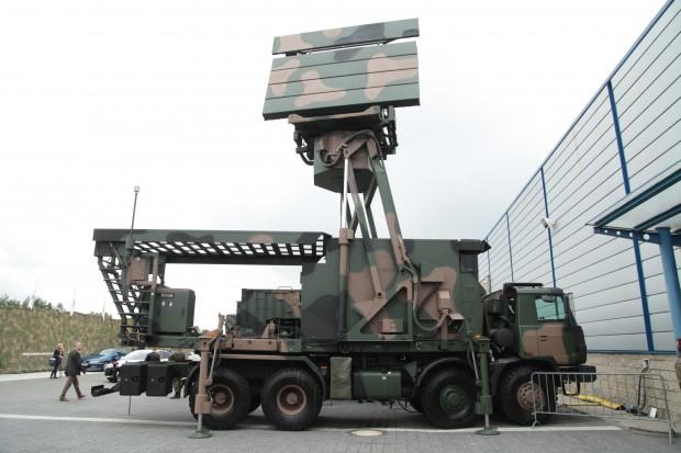Radar średniego zasięgu TRS-15M. fot. Paweł Pawłowski