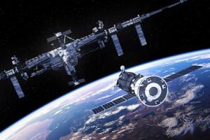 Załogowy statek Sojuz MS-06 połączył się ze stacją ISS