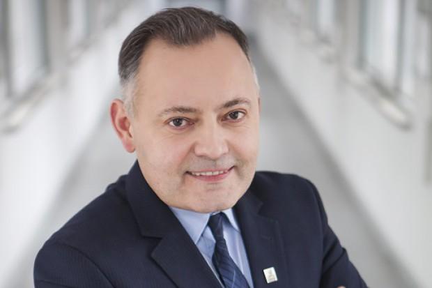 Wojciech Dąbrowski - prezes zarządu PGE Energia Ciepła (Fot. mat. pras. PGE EC)