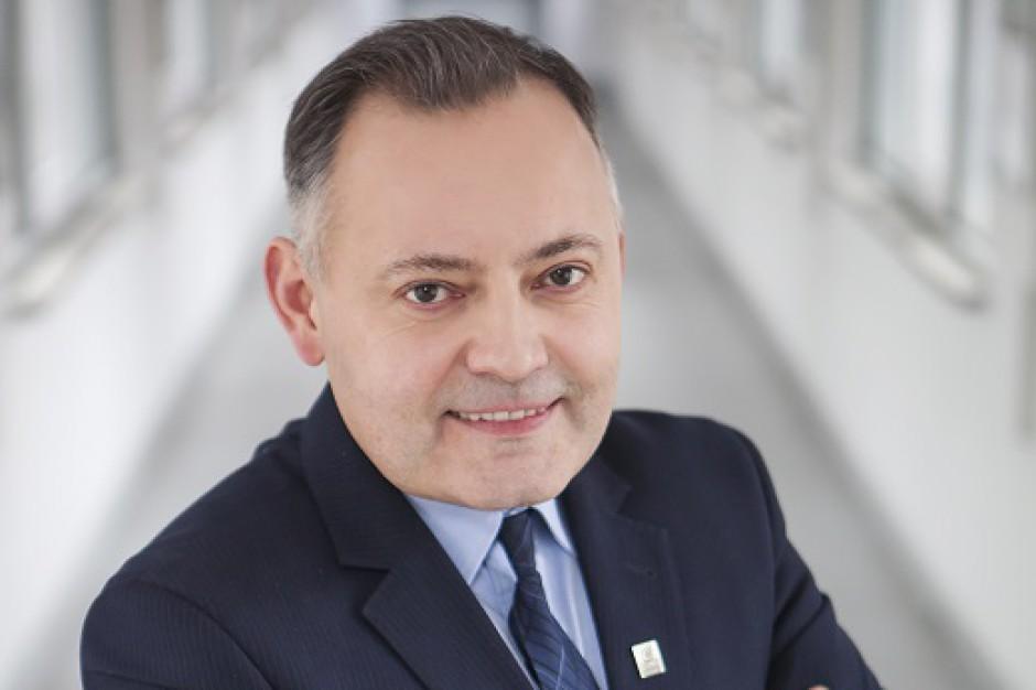 Wojciech Dąbrowski - prezes zarządu PGE Energia Ciepła. Fot. PGE EC