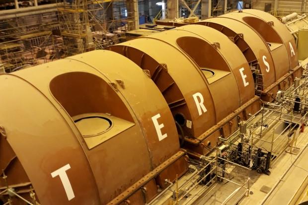 Turbina piątego bloku Elektrowni Opole zwie się Teresa